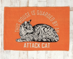This House is Guarded by an Attack Cat rug from Urban Outfitters